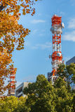 Mobile telephone radio tower Stock Photos