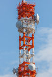 Mobile telephone tower Stock Image