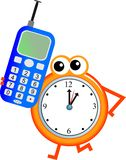 Mobile time Stock Photography