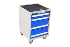 Mobile tool's trolley Royalty Free Stock Photos