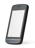 Mobile touch screen phone Royalty Free Stock Photos