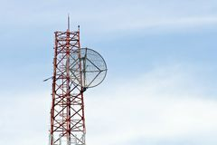 Mobile tower Royalty Free Stock Images