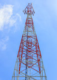 Mobile tower communication Royalty Free Stock Images