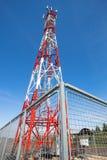 Mobile tower communication antennas Royalty Free Stock Photo