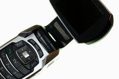 Mobile TV phone Royalty Free Stock Images