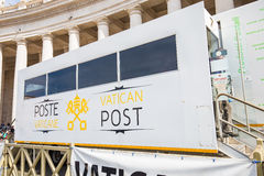 Mobile Vatican Post Office in Vatican City Royalty Free Stock Image