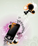 Mobile vector illustration Stock Photo