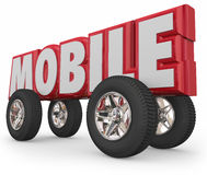 Mobile Vehicle Car  Royalty Free Stock Photography