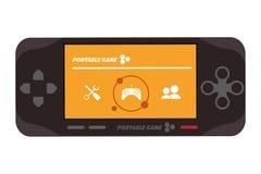 Mobile video game icon. Flat design mobile video game icon  illustration Stock Photo