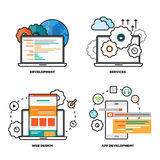 Mobile Web Services Stock Photo