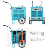 Mobile welding power source Royalty Free Stock Image