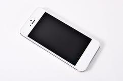 Mobile on white background. stock image