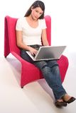 Mobile working Royalty Free Stock Photos