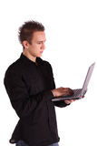 Mobile working Stock Images