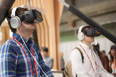 MOBILE WORLD CONGRESS 2015 - OCULUS RIFT Royalty Free Stock Photo