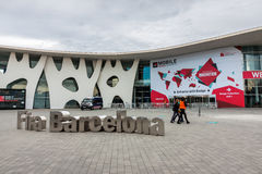 Mobile World Congress 2015 Stock Photography