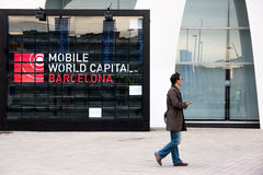 Mobile World Congress 2015 Royalty Free Stock Images