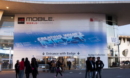 MOBILE WORLD CONGRESS 2014 Royalty Free Stock Photo