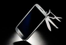 Mobilen ringer Royaltyfria Bilder