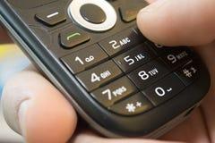 Mobilen ringer Fotografering för Bildbyråer