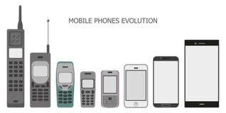 Mobilen ringer Arkivfoto