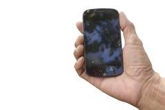Mobilen ringer Arkivbilder