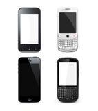 Fastställd mobil Arkivfoton