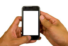 Mobilephone technology isolated background Stock Photography