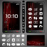 Mobilephone Theme Stock Images