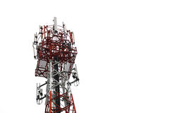 Mobilephone tower Stock Images