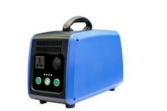 Mobiler Batterie Portable für die Speicherung der Solarenergie Stockfotografie