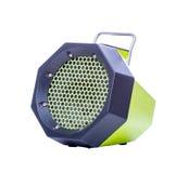 Mobiler Lautsprecher für das Hören von Musik stockfotos