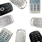 Mobiles Royalty Free Stock Photos