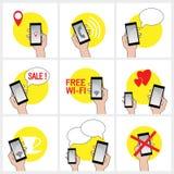 Mobilesatz Lizenzfreie Stockfotografie
