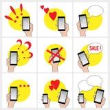 Mobilesatz Stockbilder