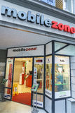 Mobilezone Communications retail store in Lucerne, Switzerland. Very high resolution, 42.2 megapixels Royalty Free Stock Image