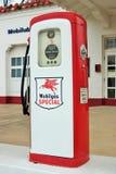 Mobilgas specjalna Benzynowa pompa Fotografia Stock