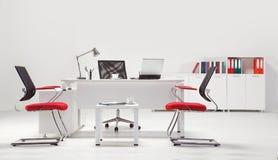 Mobiliário de escritório fotografia de stock