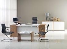 Mobiliário de escritório do VIP foto de stock royalty free