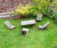 Mobili da giardino Fotografia Stock