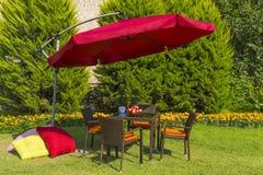 Mobili da giardino Fotografie Stock