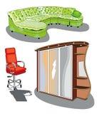 Mobilia Immagine Stock