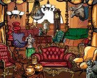 Mobilia antica royalty illustrazione gratis