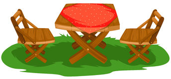 Mobilia del giardino Immagine Stock