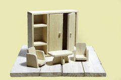 Mobilia del giocattolo Fotografia Stock