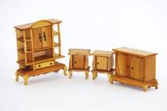 Mobilia della casa di bambola Fotografia Stock Libera da Diritti