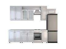 Mobilia della cucina Fotografie Stock Libere da Diritti