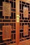 Mobilia della sequoia, stile di arte del cinese tradizionale Fotografia Stock