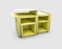 Mobilia di legno Fotografia Stock