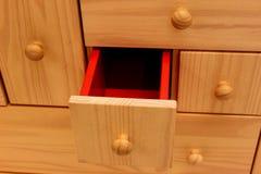 Mobilia di legno Immagine Stock Libera da Diritti